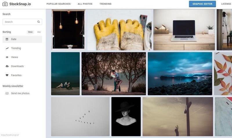 StockSnap: miles de fotografías de dominio público