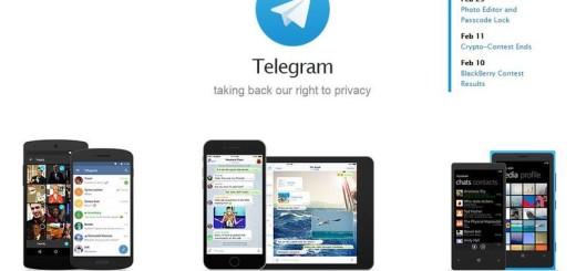 Telegram se actualiza con editor de fotos y código de acceso