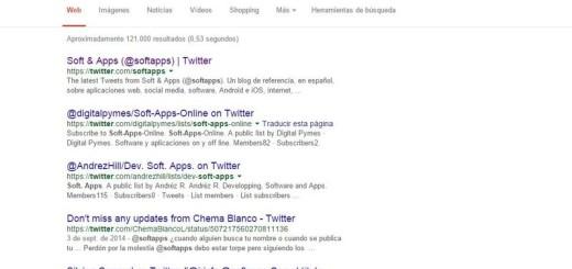 Los tweets volverán a los resultados de búsqueda de Google