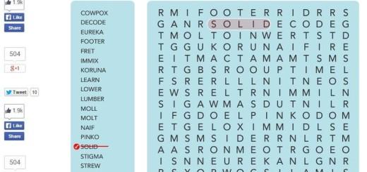 Word Search: sopas de letras para jugar desde Chrome