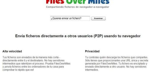 Files Over Miles: envía archivos de gran tamaño de forma segura