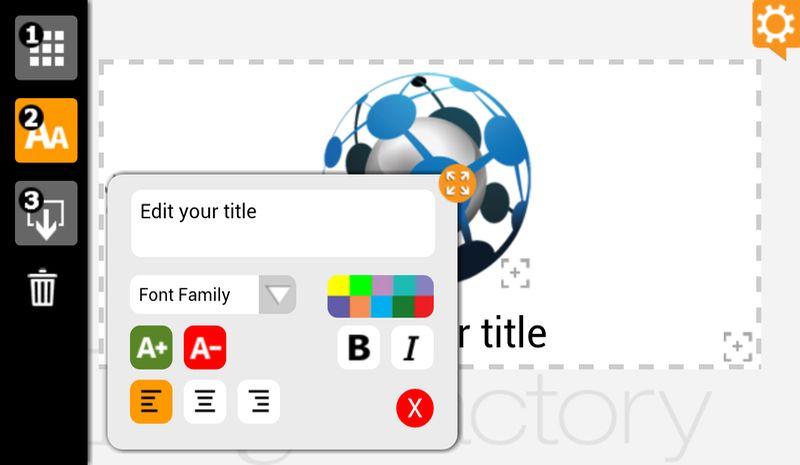 Logofactoryapp crea gratis todo tipo de logos en android for Architect online free
