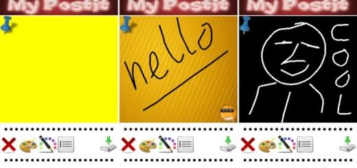 MyPostit: crea imágenes de post-it con texto y dibujos a mano alzada (Android)