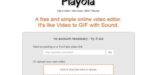 Playola: divertida web para crear vídeos cortos con música