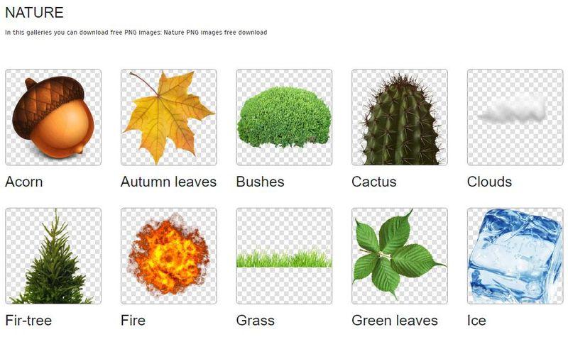 PngImg: miles de imágenes PNG con fondo transparente para descargar