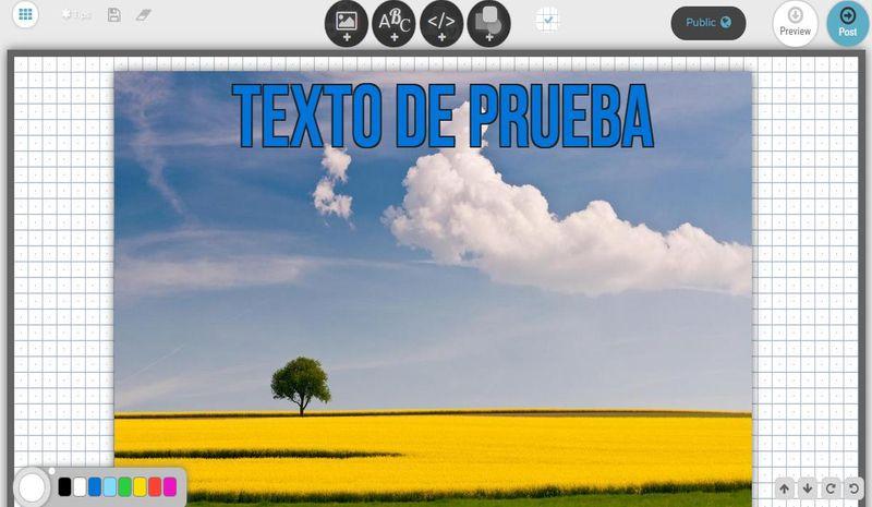 Post.as: crea online collages, memes, invitaciones, banners y más
