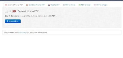 docs.zone: convierte, online y gratis, documentos a PDF y viceversa