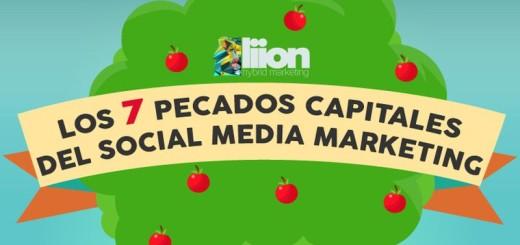 Estos son los 7 pecados capitales del Social Media Marketing (infografía)