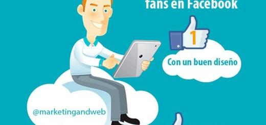 9 sencillos consejos que te ayudarán a ganar seguidores en Facebook (infografía)