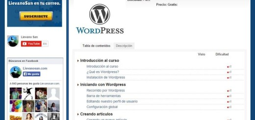 Genial vídeo tutorial gratuito de WordPress desde cero