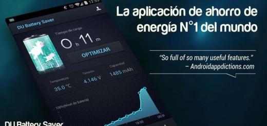 DU Battery Saver: la app Android que te ayuda ahorrar batería