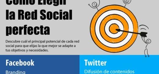 Elegir la red social perfecta