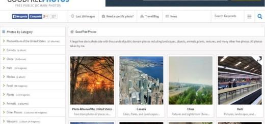 Good Free Fotos: cientos de bellas imágenes de dominio público