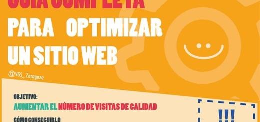 Infografía con la guía completa para optimizar un sitio (SEO)