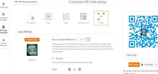 Scanova: utilidad web para crear códigos QR con tu logo