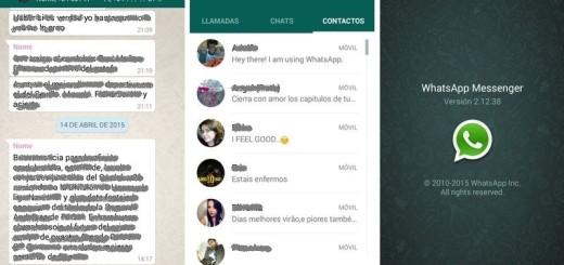 Descarga la última versión de WhatsApp en Material Design