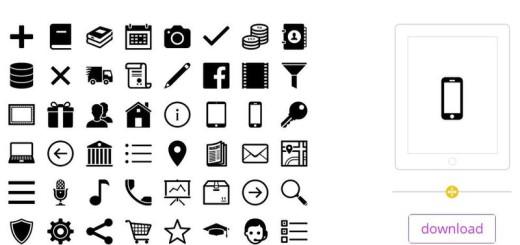 50 iconos responsive gratuitos para tus proyectos