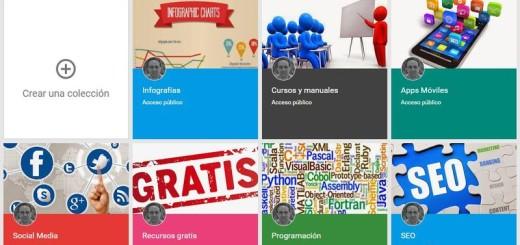 Llegan oficialmente las Colecciones a Google+