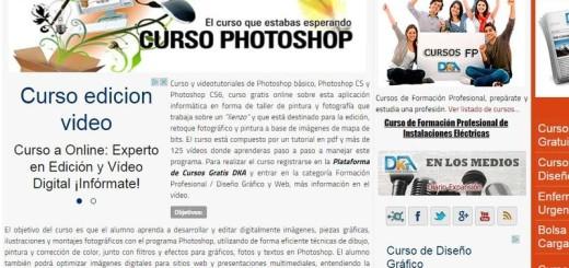Curso gratuito de Photoshop CS y CS6 con más de 125 vídeos