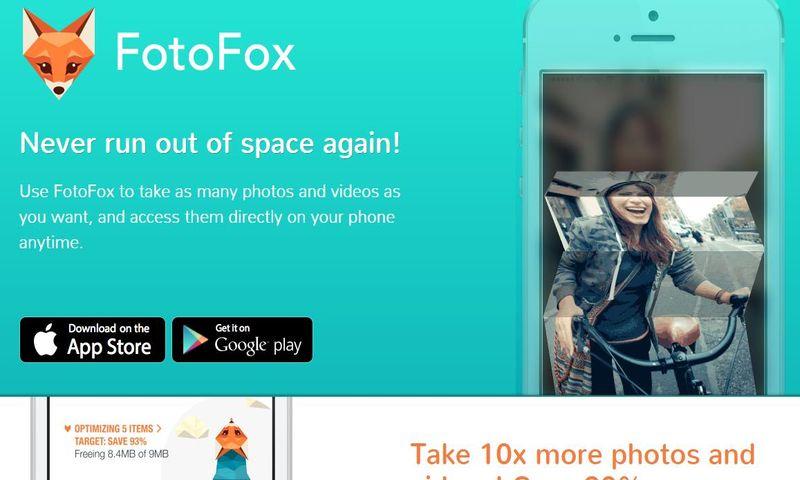 FotoFox: app móvil para reducir el espacio que ocupan fotos y vídeos