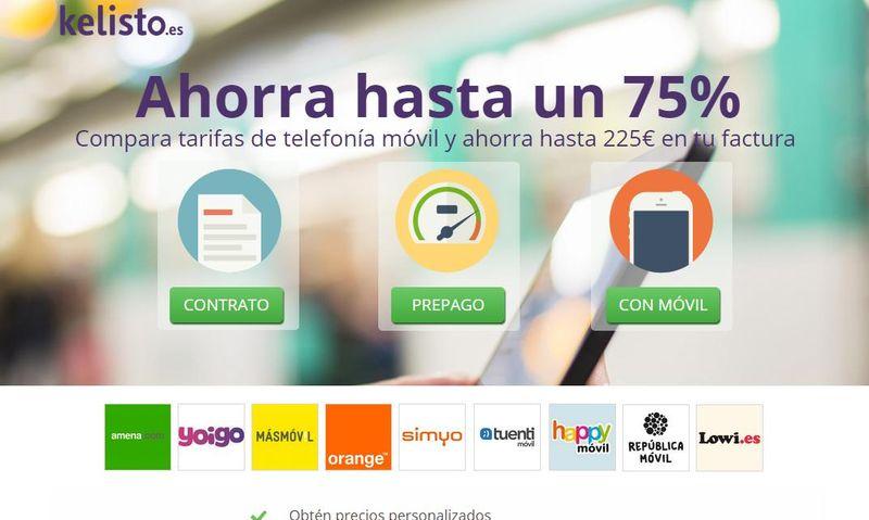 19ecd00a0f663 Encuentra las mejores ofertas de telefonía móvil en España con Kelisto