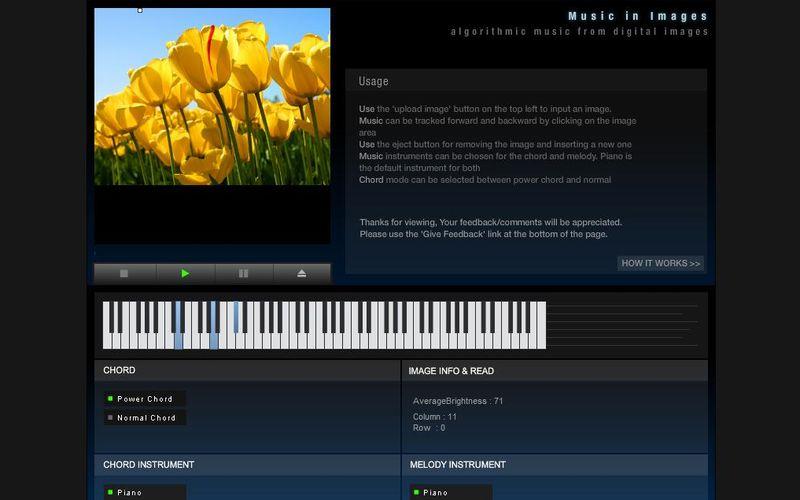 Music In Images: convierte tus fotos en música y descubre cómo suenan