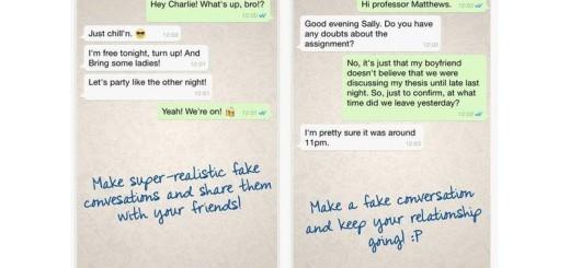 WhatsFake: crea conversaciones falsas de WhatsApp para gastar bromas