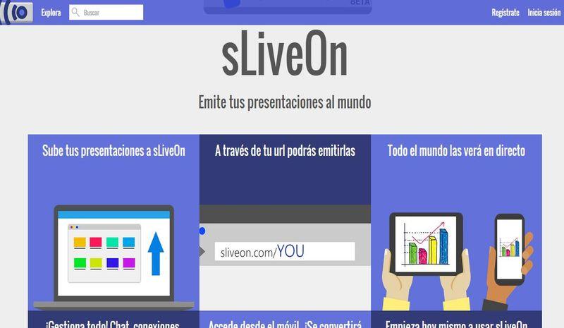 """sLiveOn: la nueva plataforma de """"streaming"""" para presentaciones"""