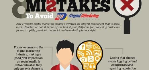 8 errores que deben evitarse en Social Media Marketing (infografía)