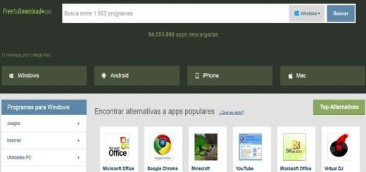 FreeToDownload: nuevo portal para descargar apps y software libre