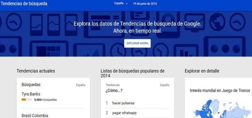 Google Trends: rediseño web y tendencias en tiempo real