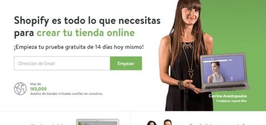 Shopify: la solución para crear una página de información o tienda online