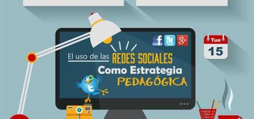 El uso de Redes Sociales como estrategia pedagógica (infografía)