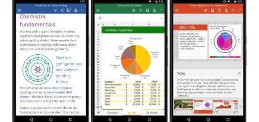 Word Excel y PowerPoint para Android