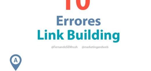 10 errores a evitar en Link Building