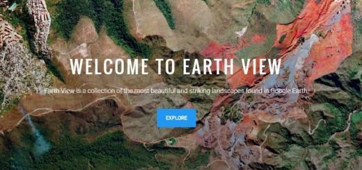 Earth View: descubre los más bellos paisajes de Google Earth