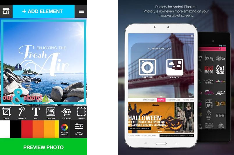 Photofy app m vil para decorar y retocar tus fotos - App decorar fotos ...