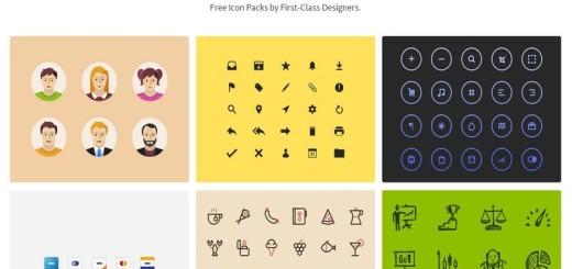 IconStore: descarga colecciones de iconos gratuitos de gran calidad