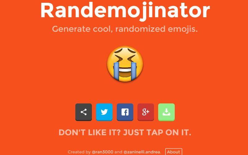 Randemojinator: genera originales y divertidos emojis