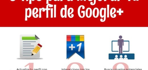 Mejora tu perfil de Google+ con estos 9 consejos (infografía)