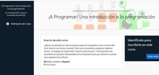 Curso gratuito de programacion con Scratch