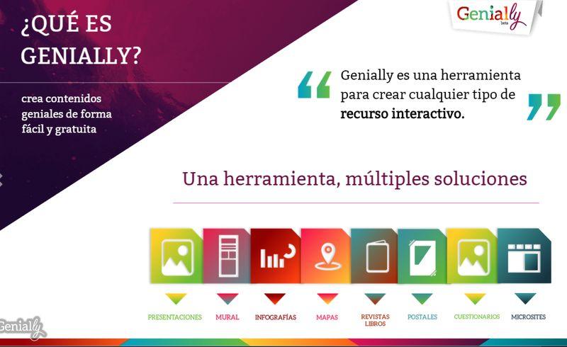 genially crea presentaciones guías infografías y más