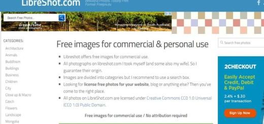 LibreShot: banco de imágenes gratis de gran calidad