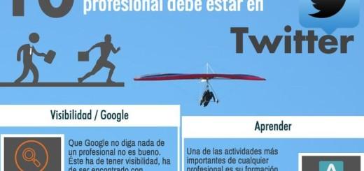 10 motivos para profesionales de estar en Twitter