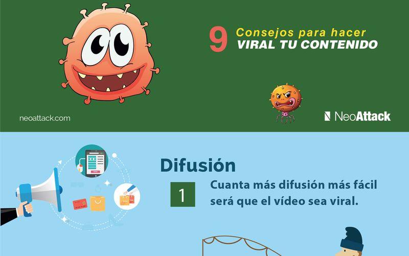 9 tips para hacer contenidos virales (infografía)