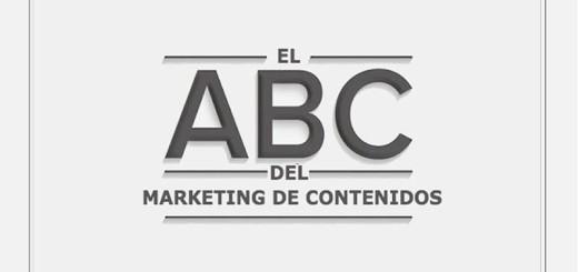 ¿Conoces el ABC del Marketing de Contenidos? (infografía)