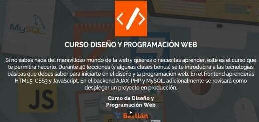 Curso de Diseño y Programacion Web