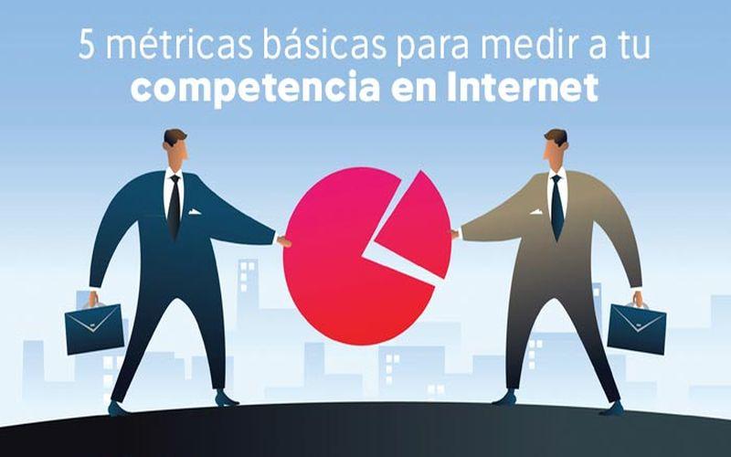Las 5 métricas básicas para analizar a la competencia en la red (infografía)