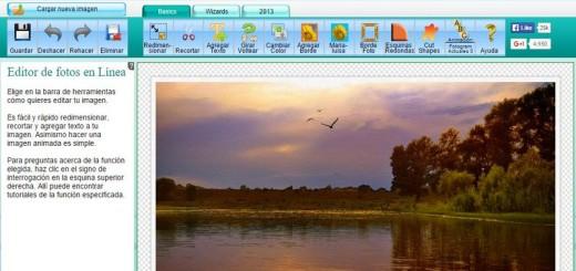 Online Image Editor: espectacular editor de imágenes gratuito