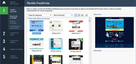 WebSite X5: impresionante software para crear sitios, blogs y tiendas online